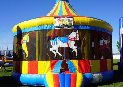 Carousel Bounce House 02