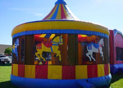 Carousel Bounce House 03