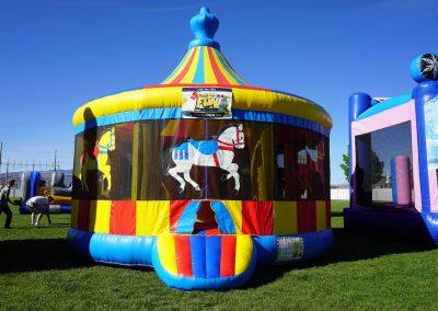 Carousel Bounce House 04