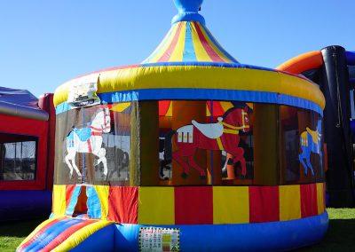 Carousel Bounce House 05