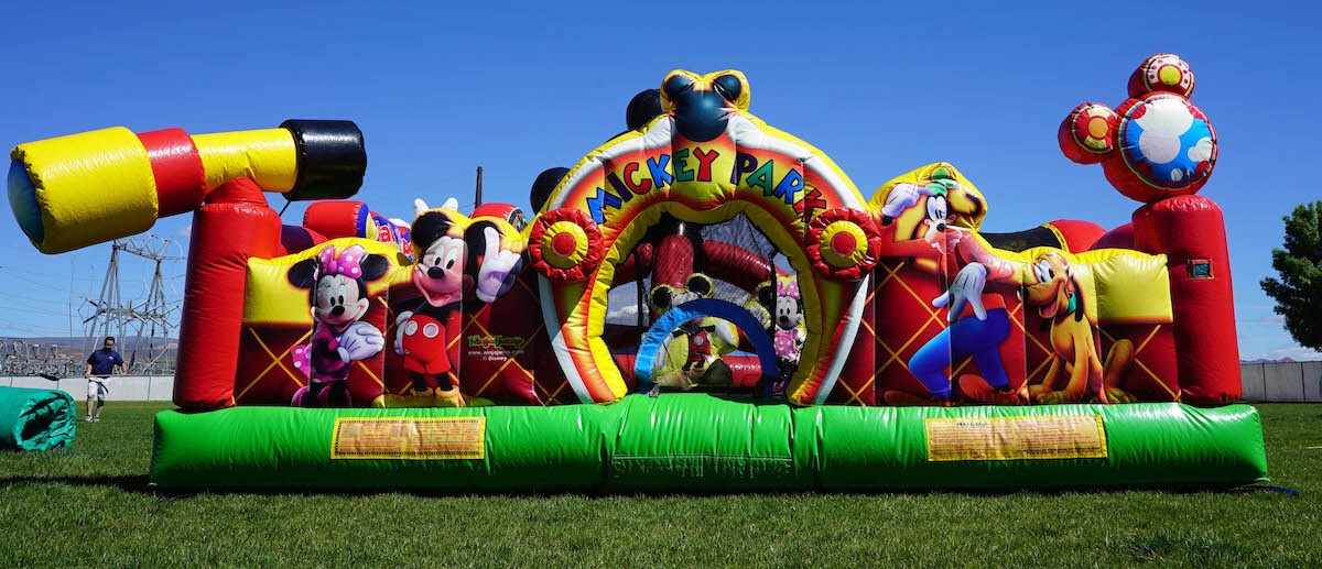 Mickey Park Bounce House Front